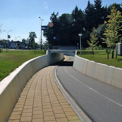 Fiets -voetgangerstunnel randweg Denekamp