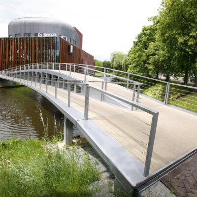 Fietsbrug De Spiegel Zwolle