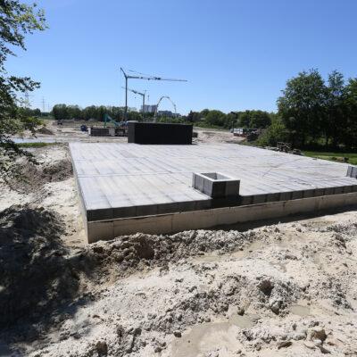 Nieuwbouw reservoir Beilen
