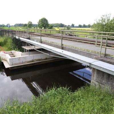 Onderdoorgang voor voetgangers onder spoorlijn Doetinchem-Winterswijk