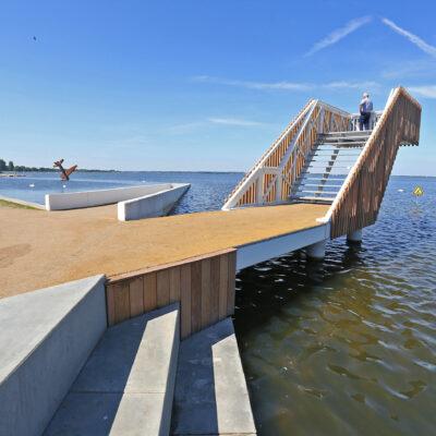 Betonwerk De Wellen waterfront Harderwijk