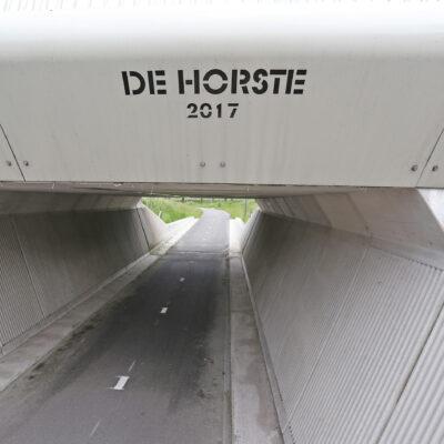 Fiets-voetgangerstunnels N18 te Varsseveld